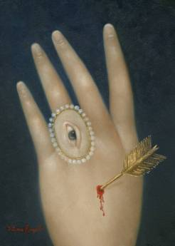 """""""Wounded Hand with Lover's Eye"""" by Fatima Ronquillo"""
